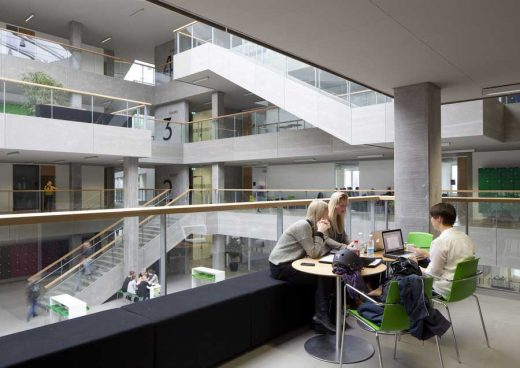Campus Aarhus University College interior