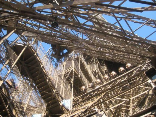 Eiffel Tower Paris building construction