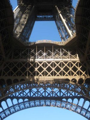 Eiffel Tower Paris structure