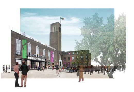 Hornsey Town Hall Building Proposal