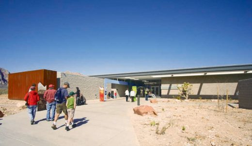 Red Rock Canyon Visitor Center building