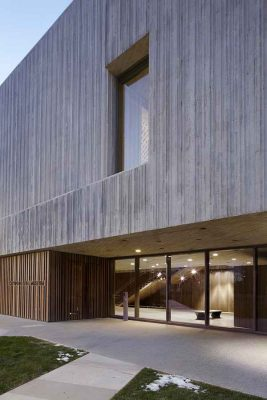 Clyfford Still Museum Denver Gallery building Colorado USA