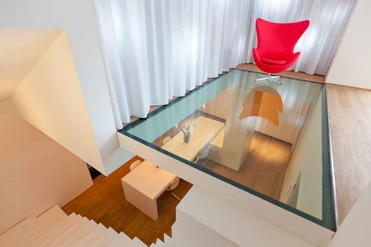 Contemporary Luxembourg House interior