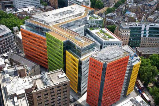 Central St. Giles mixed use development by architect Renzo Piano