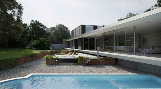 contemporary home in Suffolk
