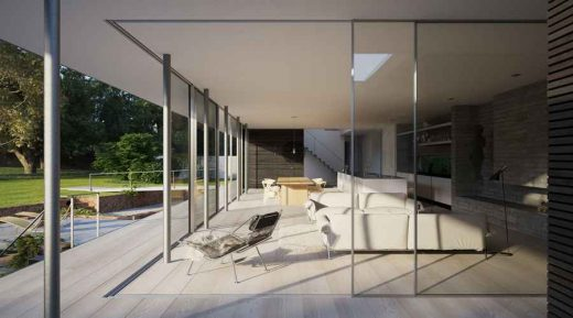 Contemporary house in Suffolk
