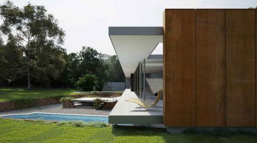 contemporary property in Suffolk