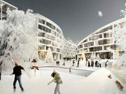 Lapland Ski Resort Finland building design