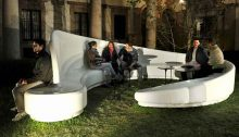 Archetto, Pitti Uomo seating design