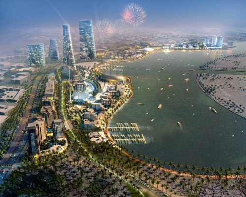 Seef Lusail Qatar Waterfront development design