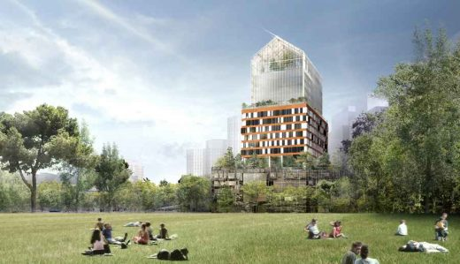 Tour Horizons Boulogne-Billancourt Tower Paris building design