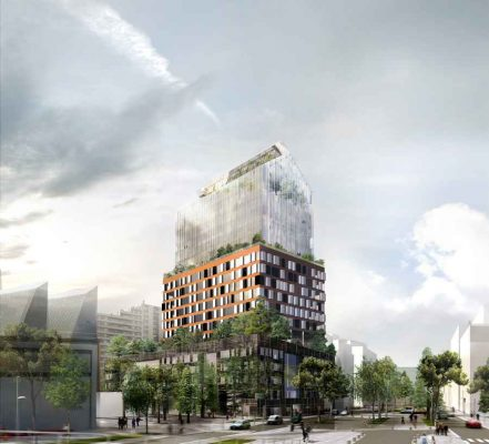 Tour Horizons Boulogne-Billancourt Tower Paris building