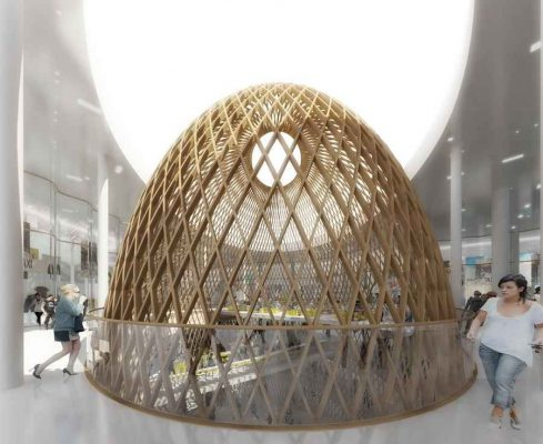 Beaugrenelle Shopping Mall Paris design