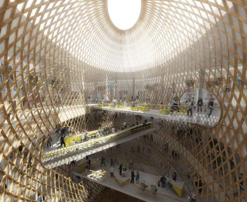 Beaugrenelle Shopping Mall Paris retail design