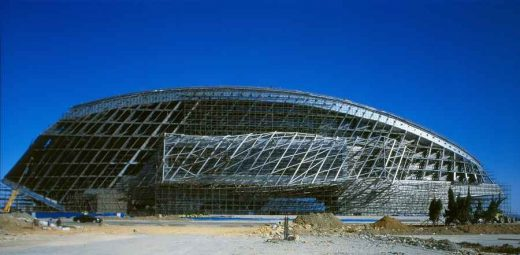 Dalian International Conference Center Building China design by COOP HIMMELB(L)AU