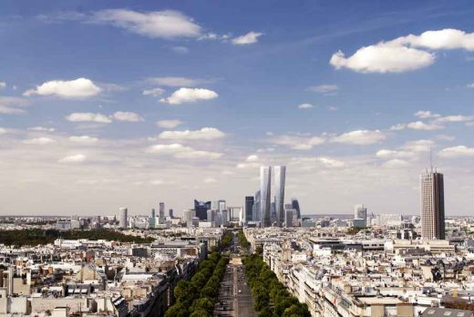 Hermitage Plaza Paris tower buildings