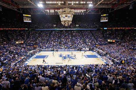 Rupp Arena Masterplan Kentucky sports venue