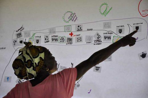 Women mapping in Sierra Leone Article 25 International Development