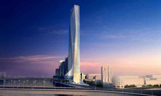 Nile Tower Cairo building design by Zaha Hadid Architects
