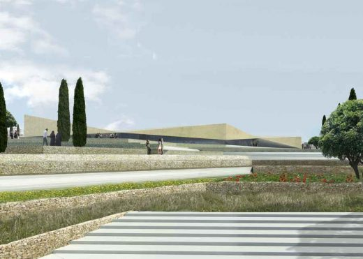 Palestinian Museum Architecture Competition entry by Heneghan Peng