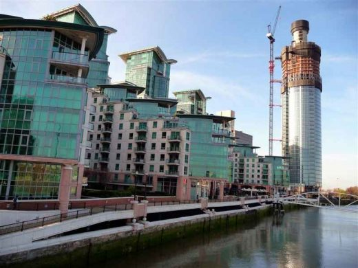 St Georges Wharf London River Thames property