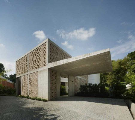 Lermit Road property contemporary Singapore residence