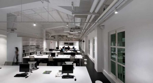 Barcode Office, Singapore Building Interior