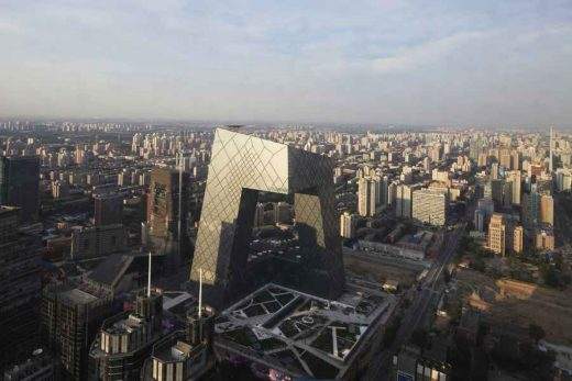 China Central Television Headquarters - Architectural Growth
