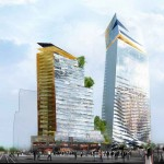 Duo Towers Project – Parisian Leaning Towers