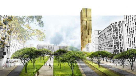 Central Tirana Masterplan: Albania Design