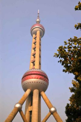 Oriental Pearl TV Tower Shanghai building