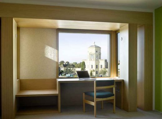 Somerville College Student Accommodation Oxford study room