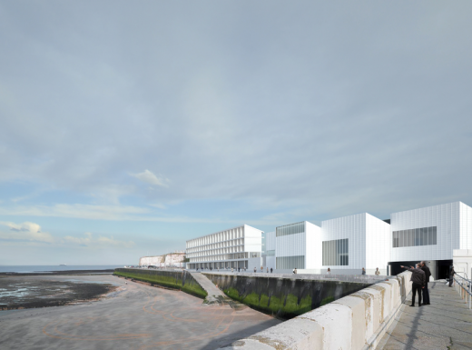 Turner Rooms Margate building design