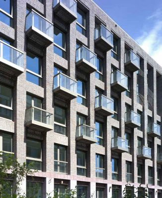 Solid 11 Amsterdam building design by Tony Fretton Architects