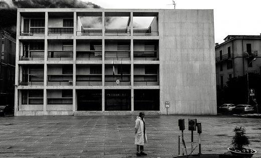 Casa del Fascio in Como by Giuseppe Terragni architect