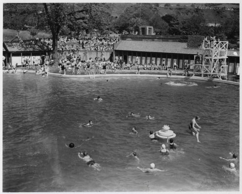 Pontypridd Lido: Welsh Swimming Pool Building