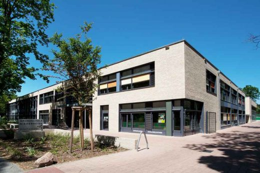 Niederheide Primary School, Brandenburg building