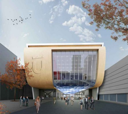 Jaarbeurs Utrecht Entry Building design