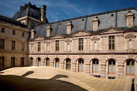 Louvre Museum Visconti Courtyard Islamic Arts Wing Paris