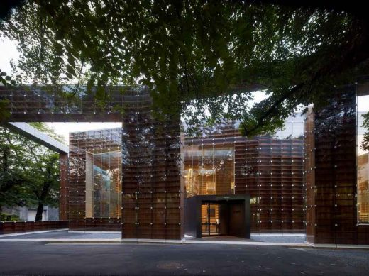 Japanese Higher Education Building design by Sou Fujimoto Architects - exterior