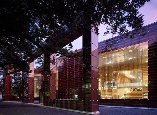 Japanese Educational Building design by Sou Fujimoto Architects - facade