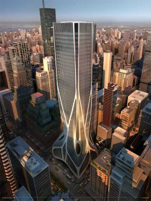 425 Park Avenue Competition New York design by Zaha Hadid
