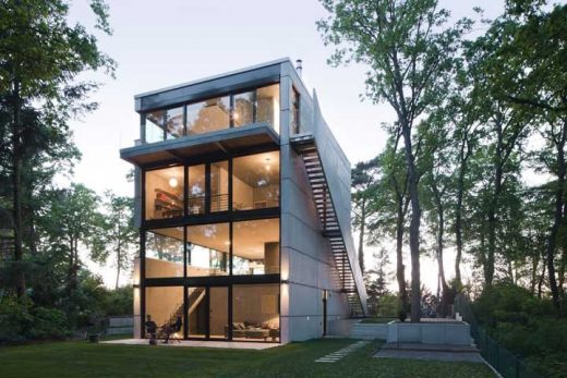 Haus Potsdam-Mittelmark Berlin by Peter Ruge Architekte - New House Designsn