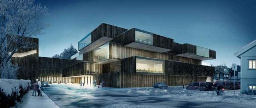 Kongsberg Cultural Centre Norway building design