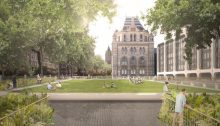 Natural History Museum London design by Níall McLaughlin Architects