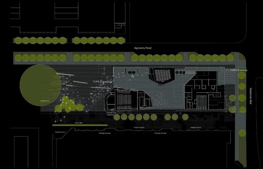 UBC Faculty of Pharmaceutical Sciences building plan