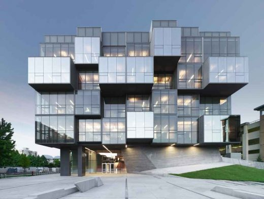 UBC Faculty of Pharmaceutical Sciences Building - Vancouver Architecture Walking Tours