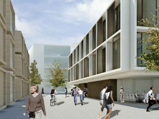 University of Oxford Mathematical Institute building design