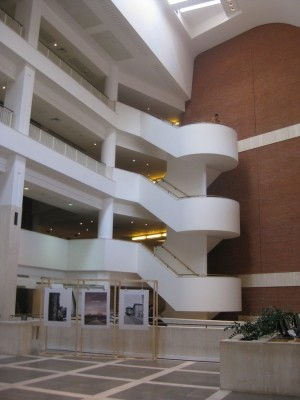 British Library Building interior