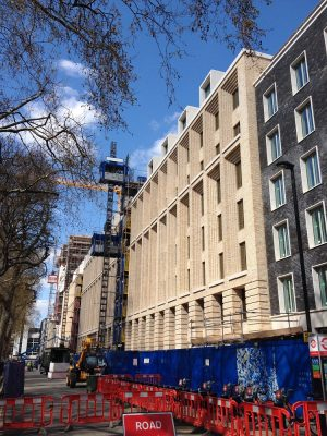 Euston road buildings london architecture e architect for Cartwright builders